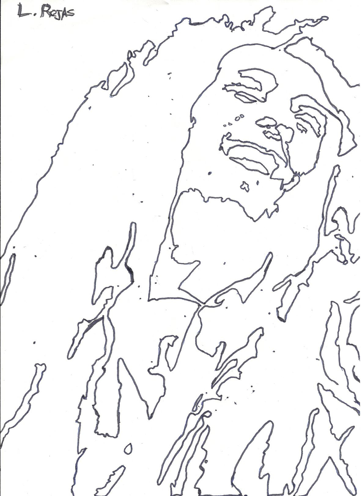 marley free coloring pages