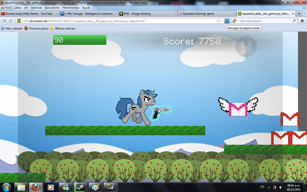 [Juego Flash]Equestria Daily The Game