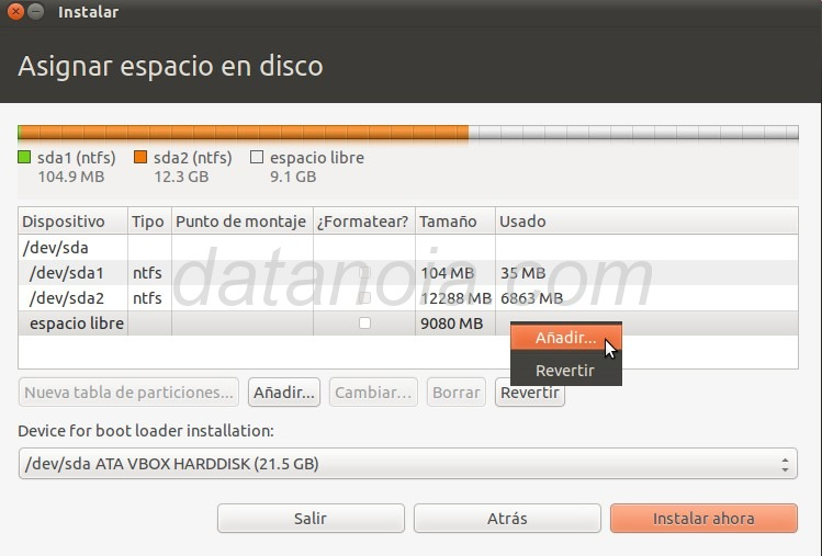 Tutorial de como instalar Ubuntu 11.04 sin formatear Windows